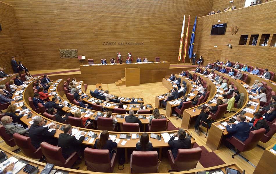 Imagen destacada Les Corts constituirán dos comisiones y comparecerá el Síndic de Greuges