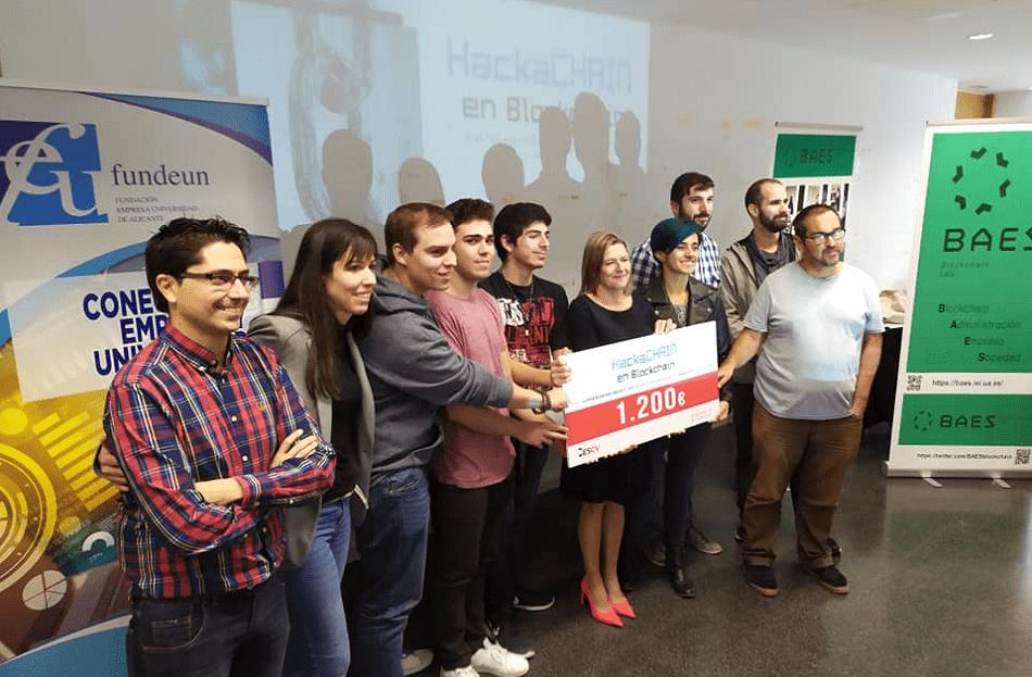 Imagen destacada Una propuesta de blockchain para el ramo de automoción gana el Hackachain de Fundeun