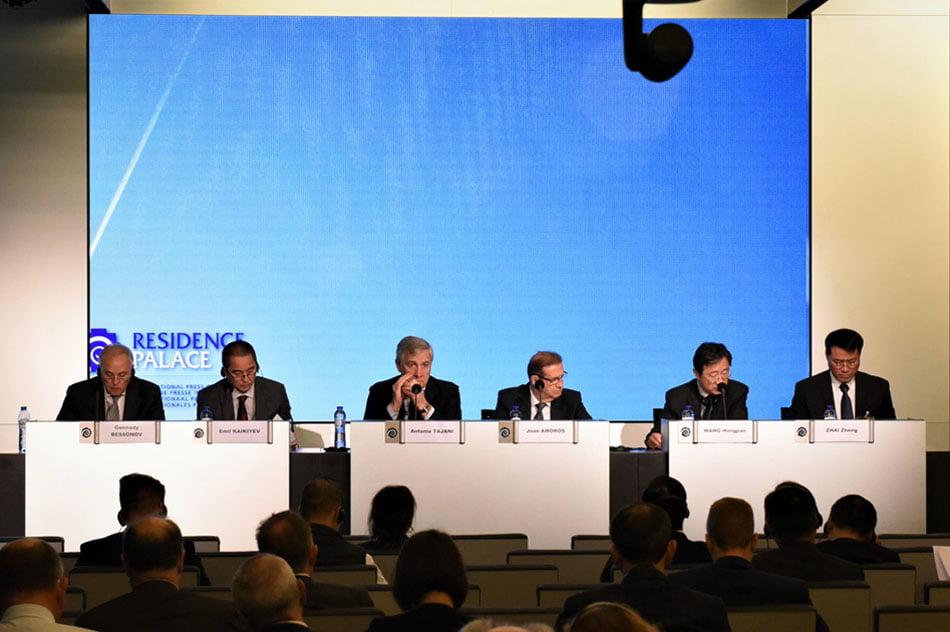 Ferrmed critica en Bruselas el retraso de las obras del Corredor Mediterráneo