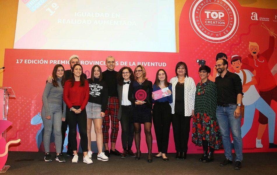 Diputación de Alicante reconoce el talento jóven con los Premios 'Top Creation'