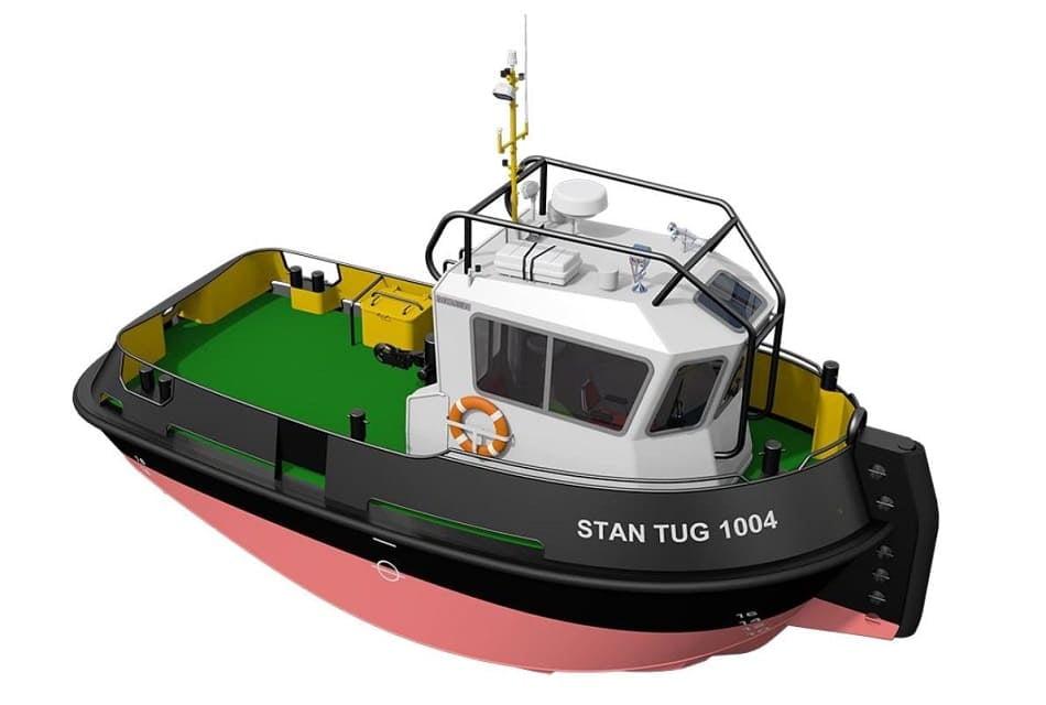 Baleària estrenará en el puerto de Déniaun nuevo remolcador ecoeficiente