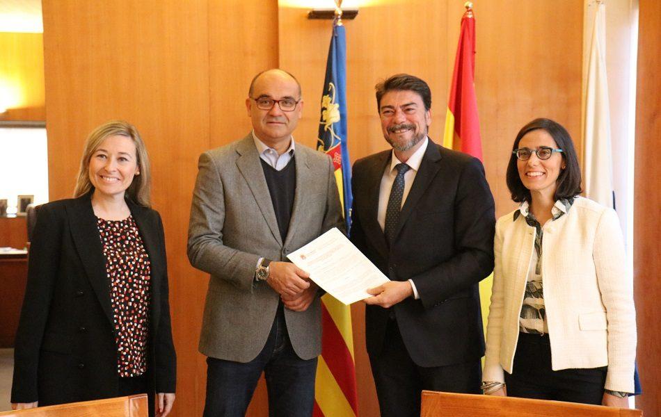 """Alicante proyecta un corredor verde """"Ciudad Empresarial"""" Aguamarga-Parque Científico"""