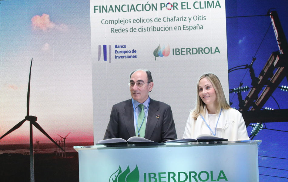 El BEI concede a Iberdrola dos préstamos por valor de 690 millones