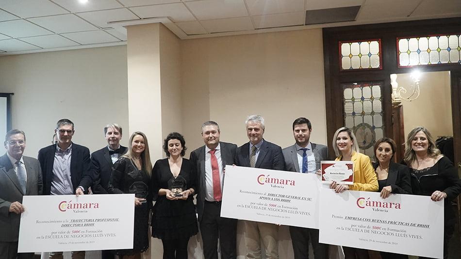 Danone, Vectalia y Vicky Foods se alzan con los premios Aedipe-CV-Cámara Valencia