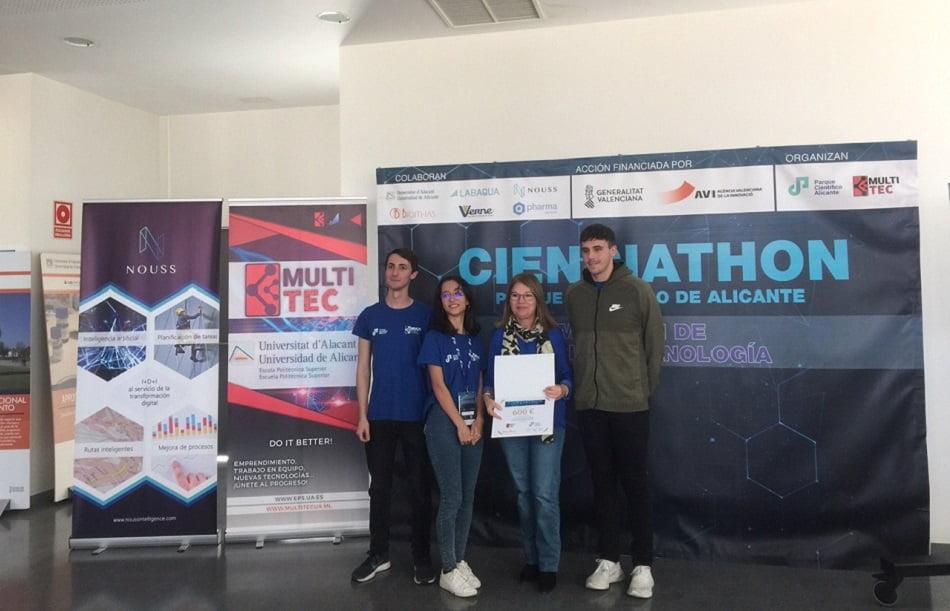 El Parque Científico de Alicante ha elegido a los ganadores de su primer Cienciathon