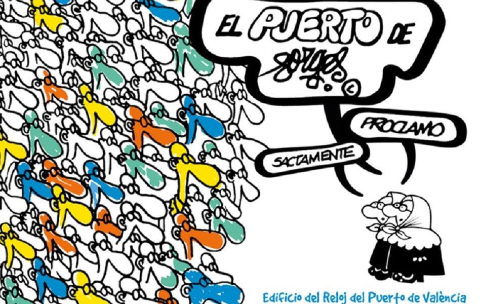 Imagen destacada Valenciaport muestra los cambios económicos españoles con las viñetas de Forges