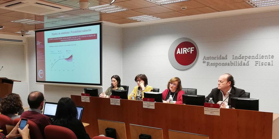 La Airef considera insostenibles las finanzas de la Generalitat