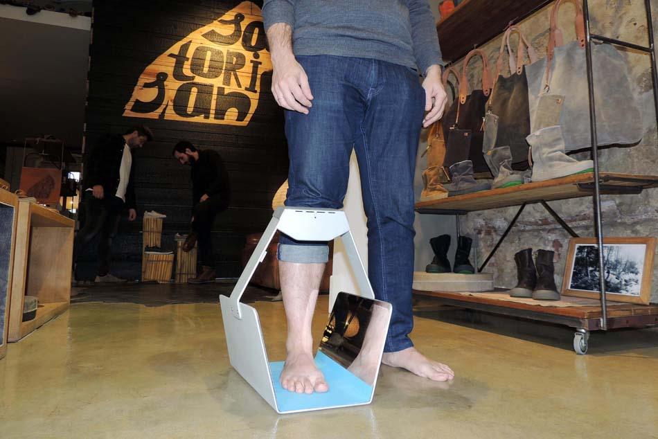 Acertar con la talla de calzado es más fácil con el probador del IBV
