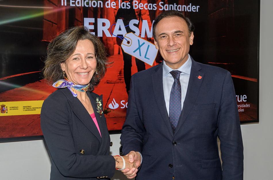 Imagen destacada Abierta la convocatoria para solicitar la Becas Erasmus Santander