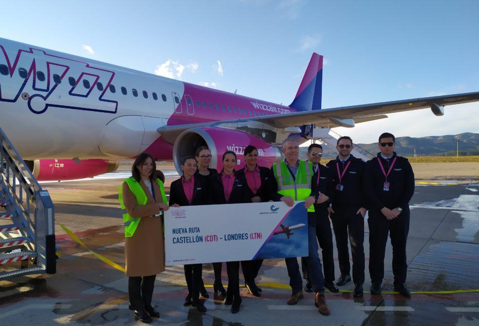 Imagen destacada Castellón recibe el primer vuelo desde Londres-Luton y promociona el de Marsella