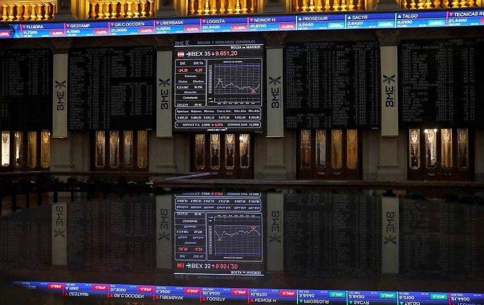 La bolsa española cae el 7,88 % y desciende hasta 6.100 puntos