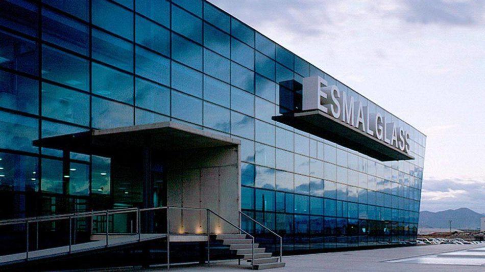 Sede de Esmalglass empresa del sector cerámico de Castellón