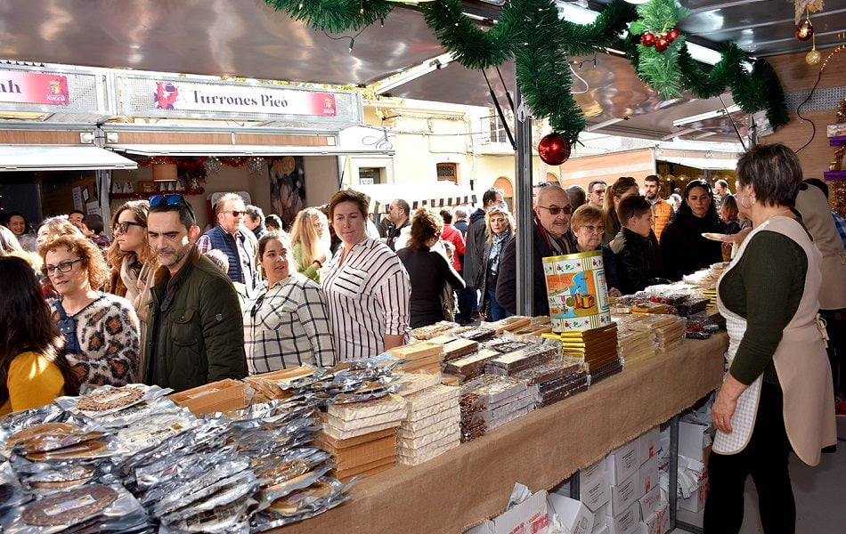 Imagen destacada Feria de Navidad de Jijona reúne este fin de semana la mayor oferta de turrones y dulces