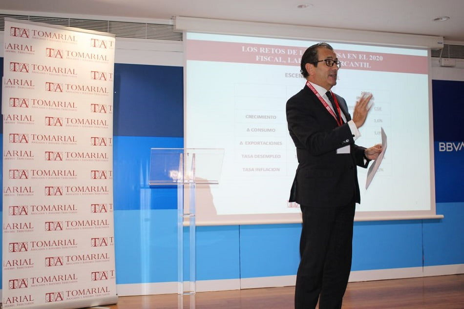 Tomarial advierte que la subida de impuestos castigará a empresas con estructura vertical