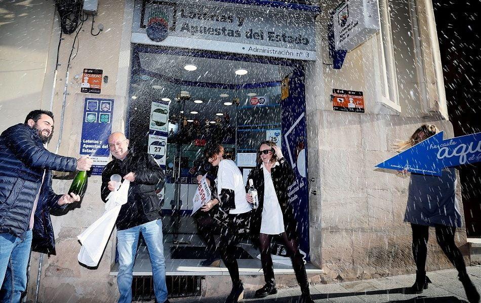 Las ventas del Gordo superan el verano pero siguen un 25 % por debajo de 2019