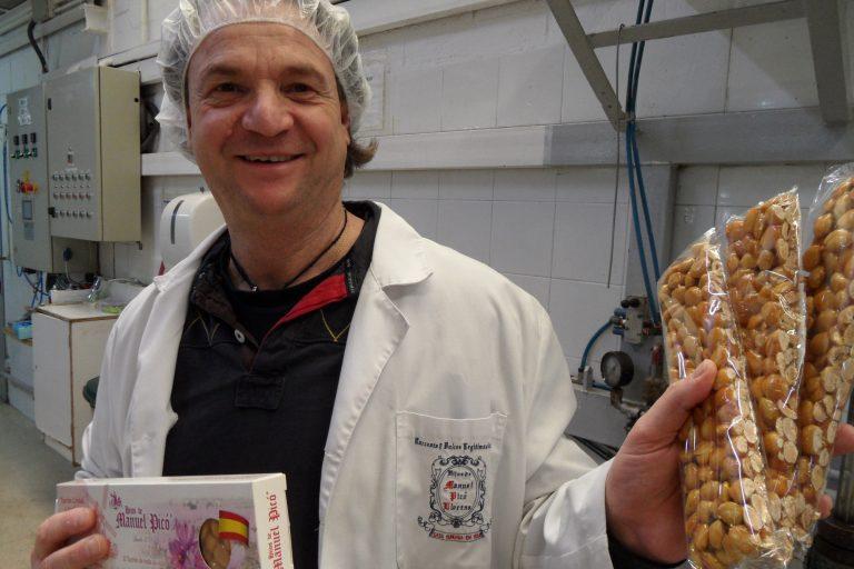 El gerente de la empresa de Jijona, Manuel López Espí.