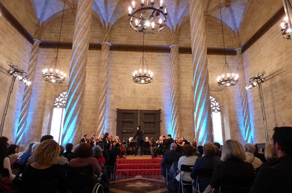 Imagen destacada La Orquesta de València interpreta en La Lonja la Sinfonía nº 6 de Anton Bruckner
