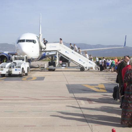 el-aeropuerto-de-casellon-se-queda-con-una-sola-ruta-comecial-a-partir-de-este-sabado