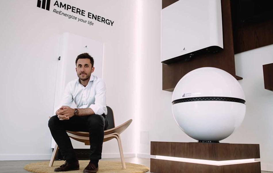 Imagen destacada Ampere Energy presenta en Genera su nueva gama de baterías PRO