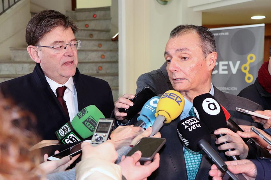 Imagen destacada La CEV critica las nuevas medidas del Gobierno y advierte de su efecto negativo