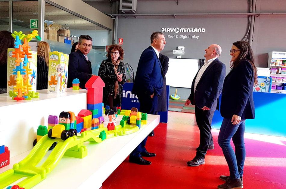 El Consell acompaña al sector del juguete en la Feria de Nuremberg