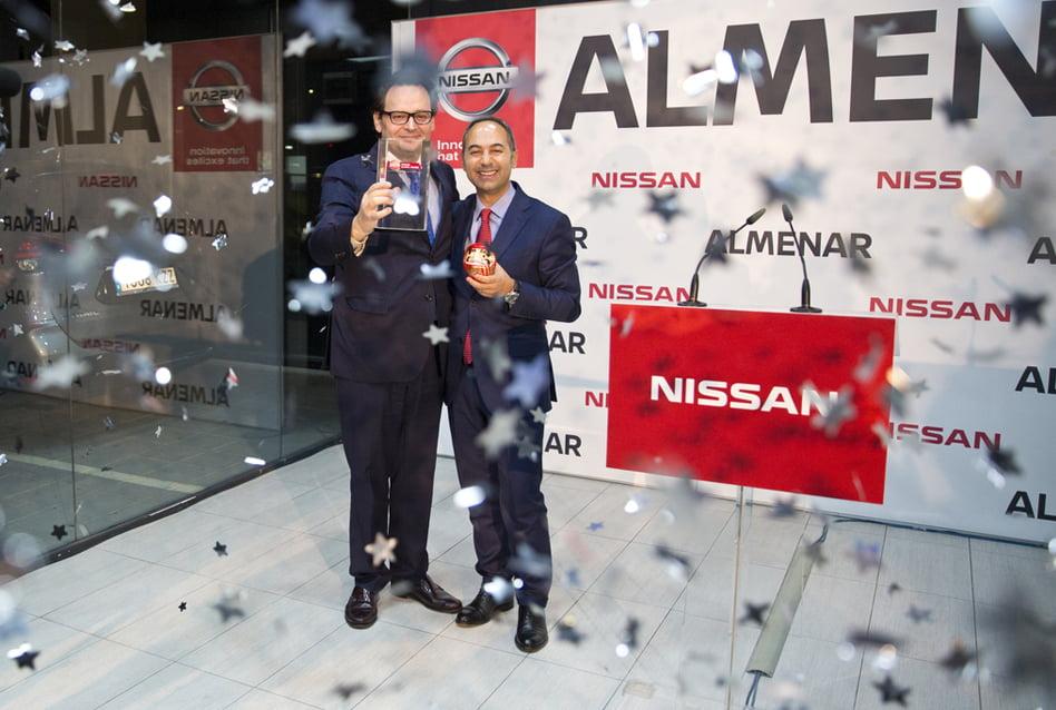 Imagen destacada Nissan Almenar consigue por tercera vez el Nissan Global Award