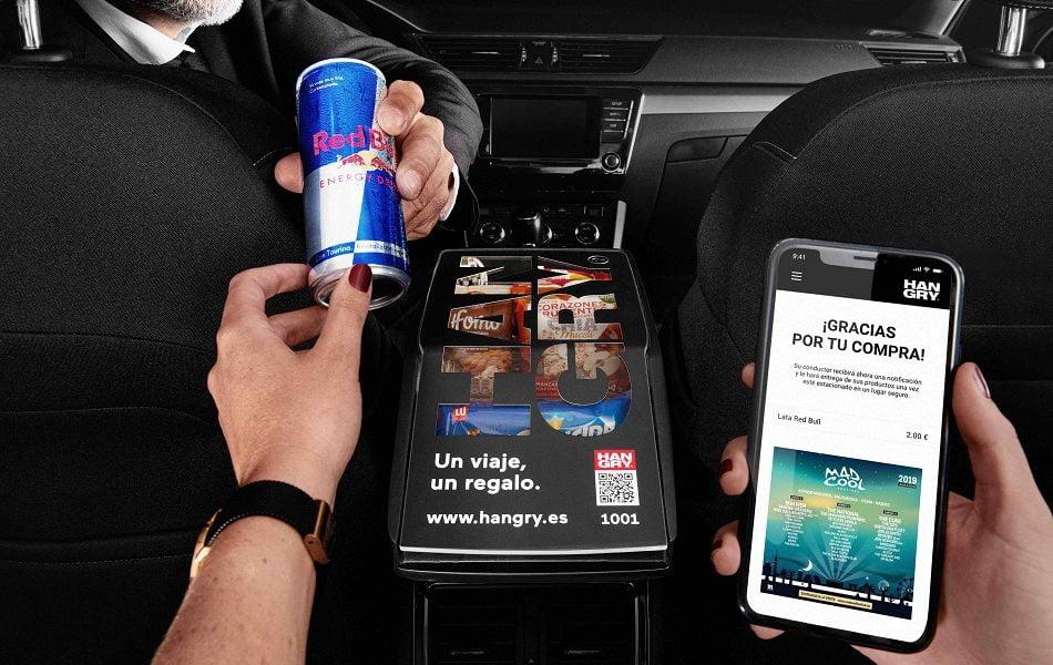 Imagen destacada 'Hangry' levanta 1M de inversión para transformar VTC y taxis en tiendas móviles