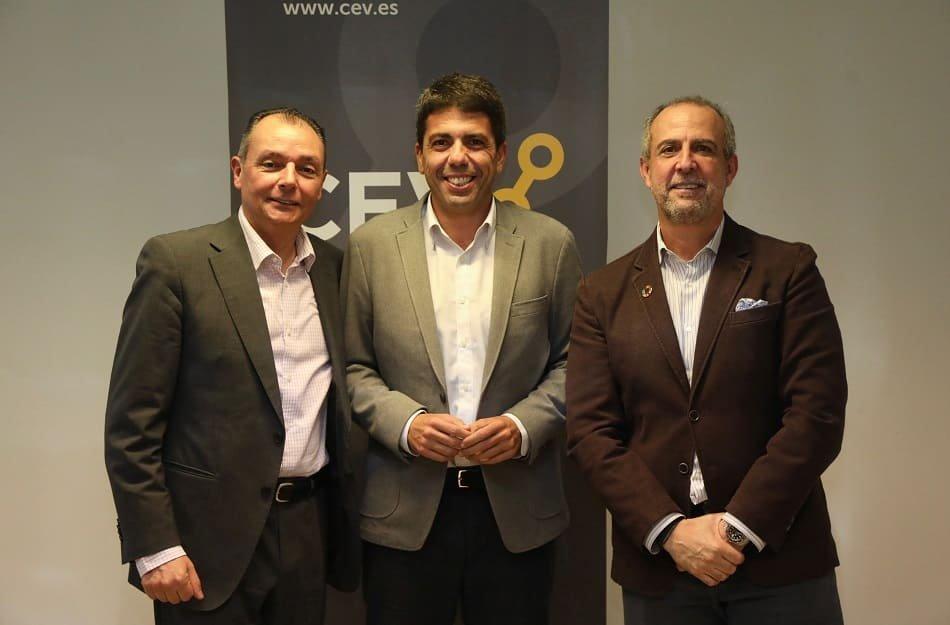 Imagen destacada CEV y Diputación de Alicante trabajarán juntos en el impulso del tejido empresarial