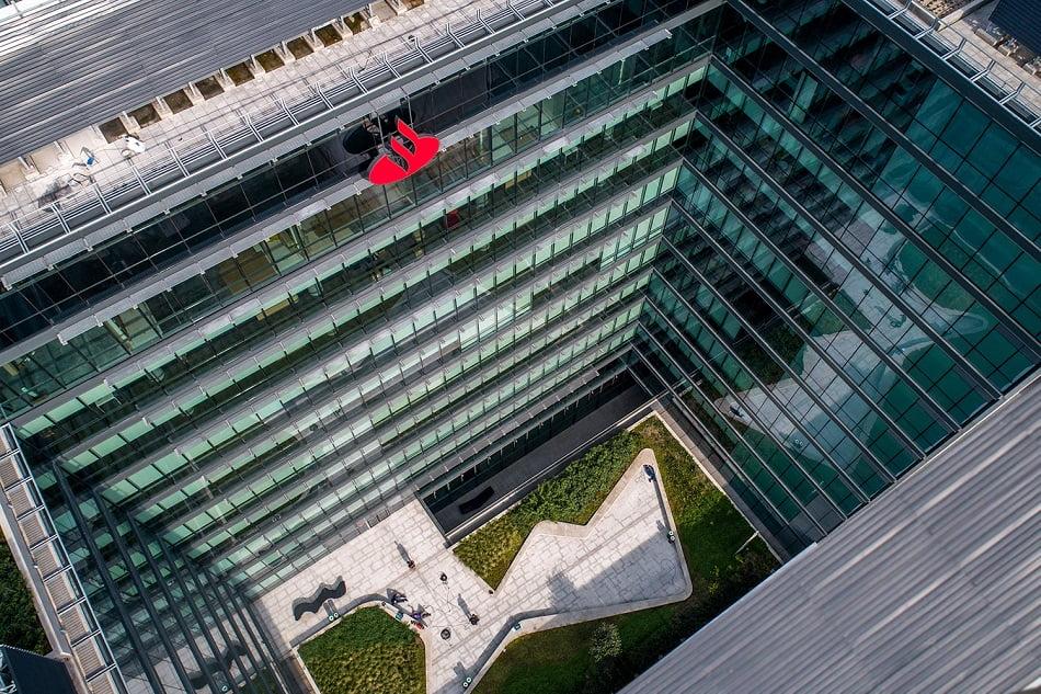 Imagen destacada Banco Santander pierde 9.048 millones de euros hasta septiembre por provisiones