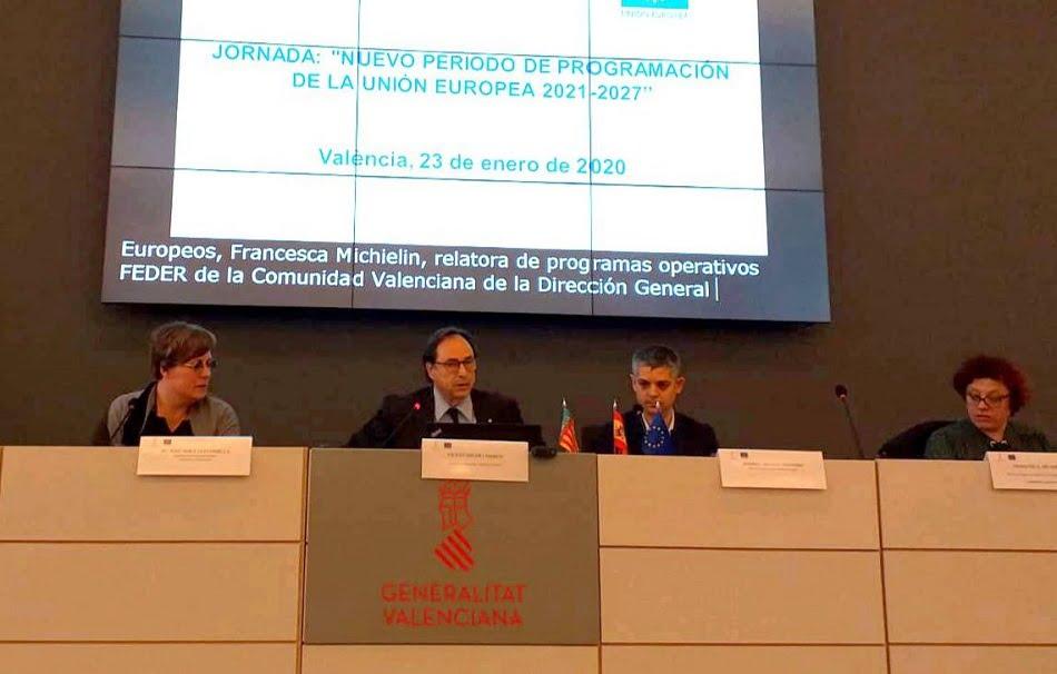 Imagen destacada La Generalitat, preparada para acoger los nuevos programas Feder y del FSE