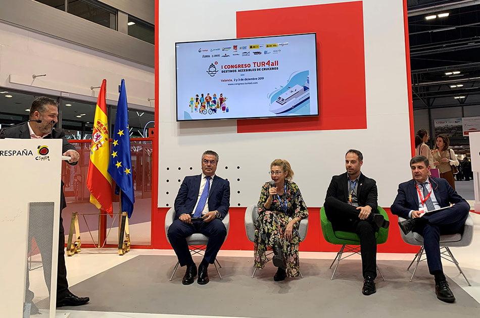 Imagen destacada Valenciaport expone en Fitur cómo convertir los puertos en espacios más accesibles