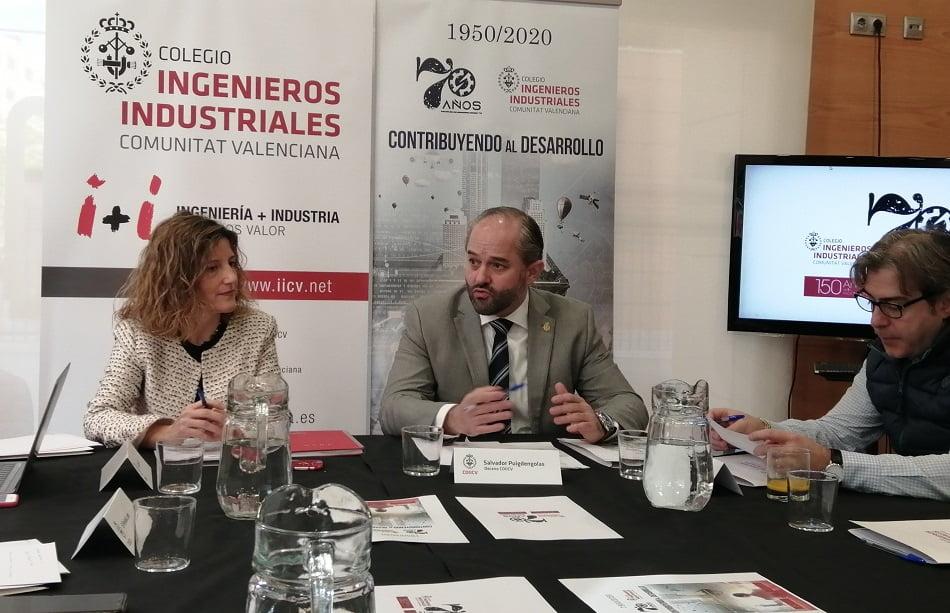 El COIICV celebra su 70 aniversario con 12 acciones por el futuro de Ingeniería Industrial