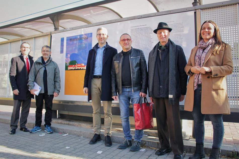 Las paradas del tranvía de València recuperan los diseños de Paco Bascuñán