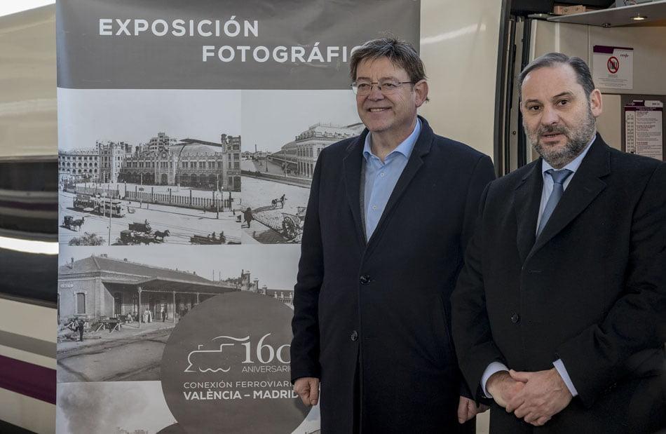 Imagen destacada Una exposición conmemora los 160 años de conexión ferroviaria València-Madrid