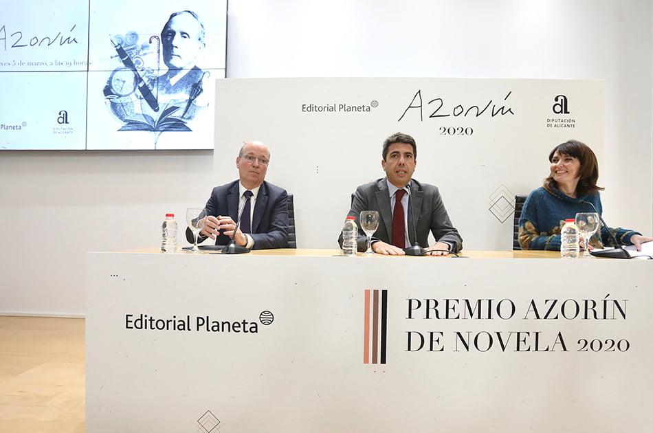 Imagen destacada 218 autores concurren este año al 'Premio Azorín de Novela'