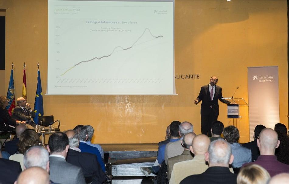 Imagen destacada CaixaBank analiza con clientes de banca privada en Alicante la situación económica