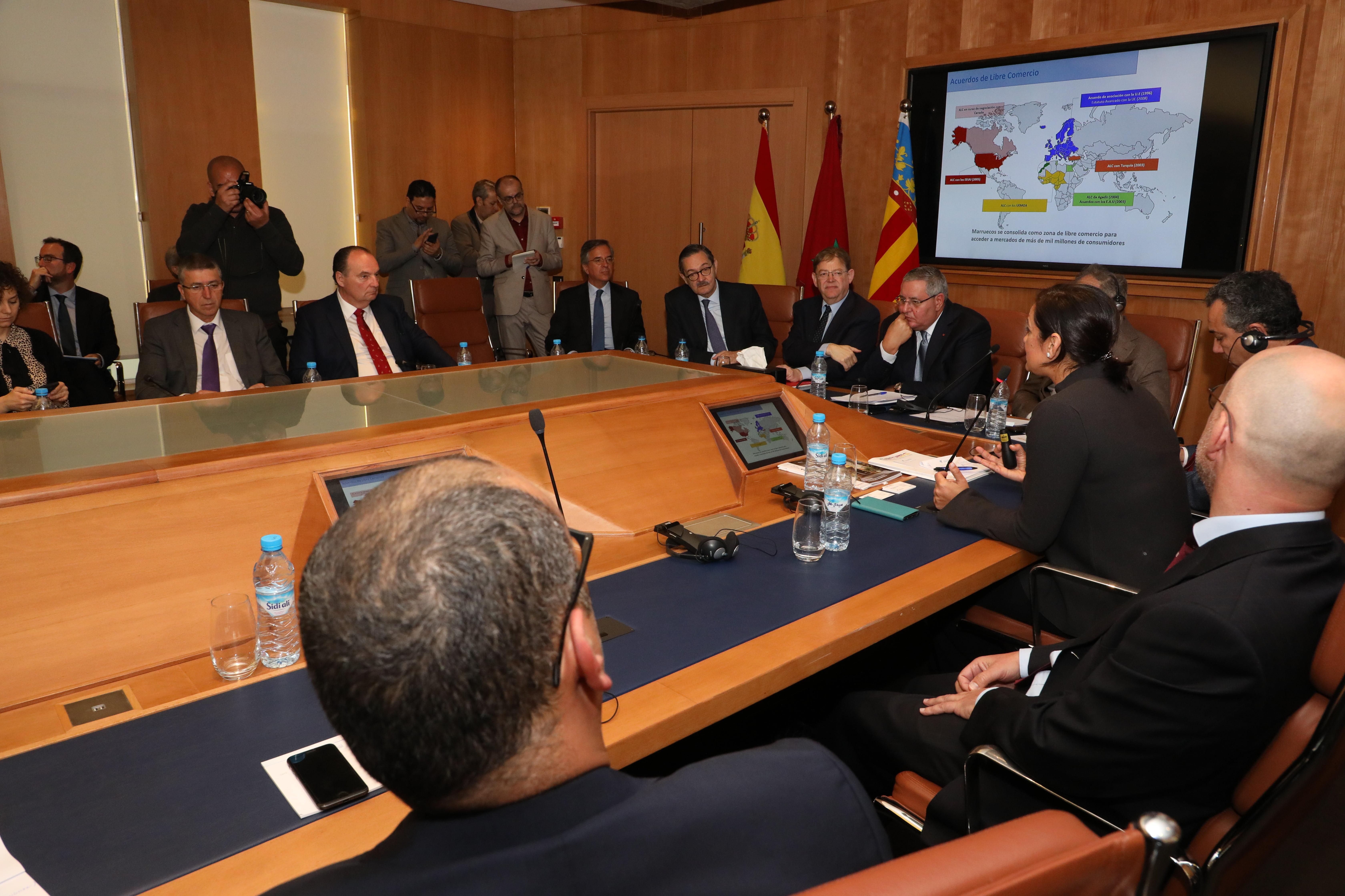 """Puig: """"La misión a Marruecos abre oportunidades a los sectores valencianos"""""""