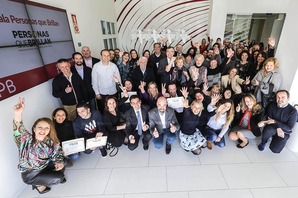 Imagen destacada La Gala Personas que Brillan recauda 10.000 euros para entidades solidarias