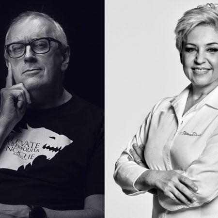 Susi Díaz y Xabier Gutiérrez