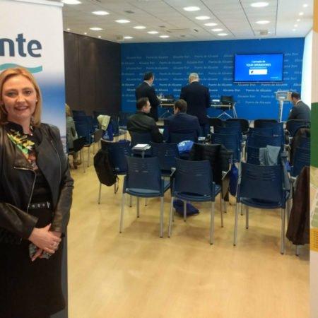 Anabel Benito, responsable de Cooperación y Dinamización de la Fundación Proport Alicante