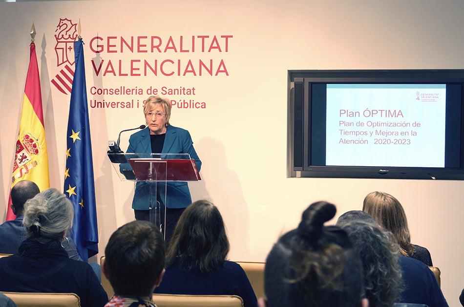 La espera media en la Sanidad valenciana era de 86 días a 31 de enero