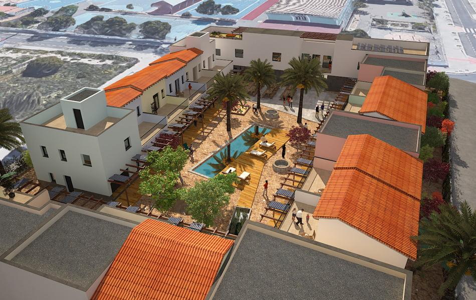 El cohousing de Rabasa se financiará parcialmente con títulos participativos