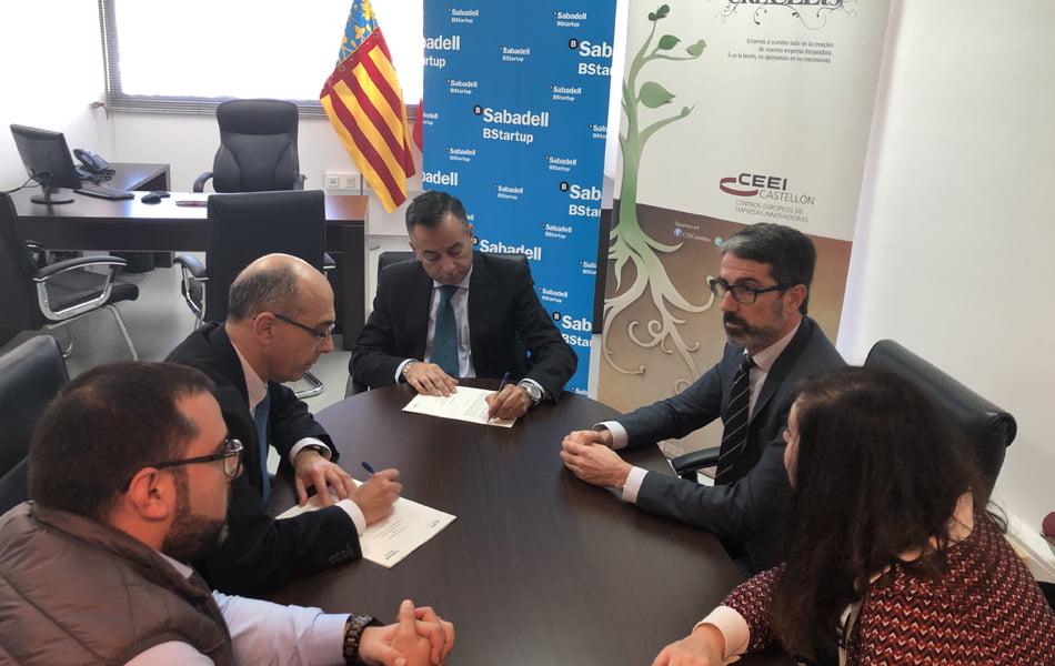 Imagen destacada CEEI Castellón y el Sabadell renuevan su compromiso de apoyo a emprendedores