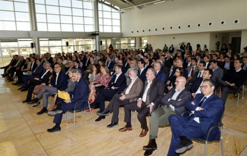 Asistentes al evento en el Distrito Digital de Alicante. /INECA