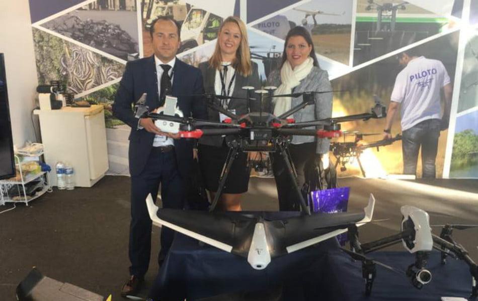 Los drones generan el 10% del negocio de Lokímica y le abren el camino en Suramérica