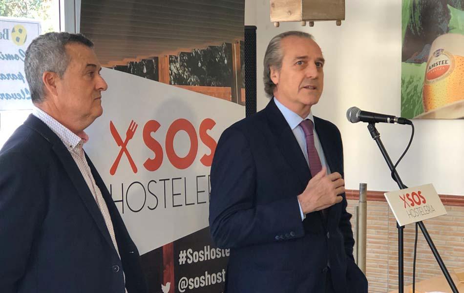 Imagen destacada SOS Hostelería, contra la Ley del Juego: