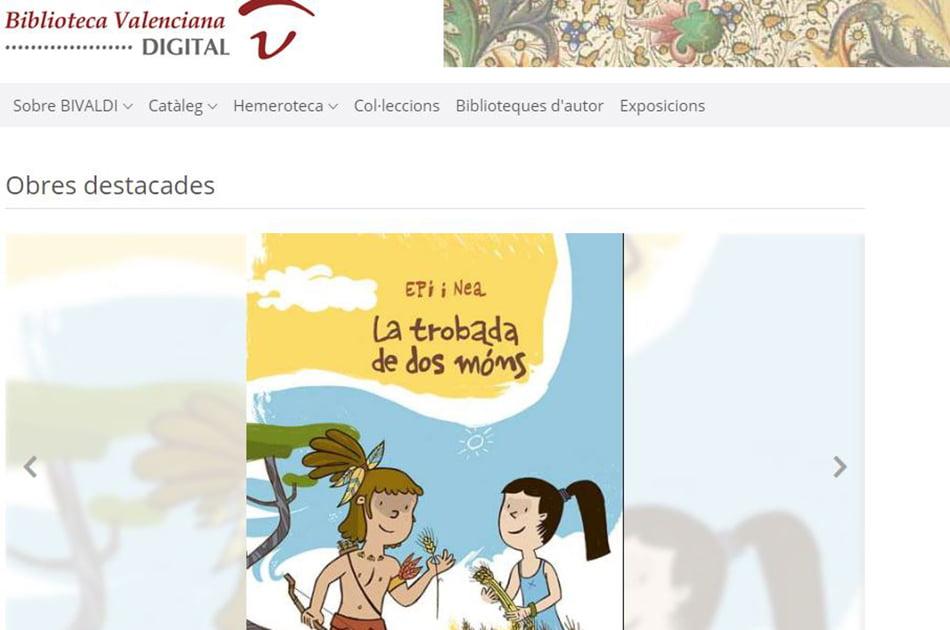 Imagen destacada La Biblioteca Valenciana mantiene el contacto con sus usuarios a través de su web