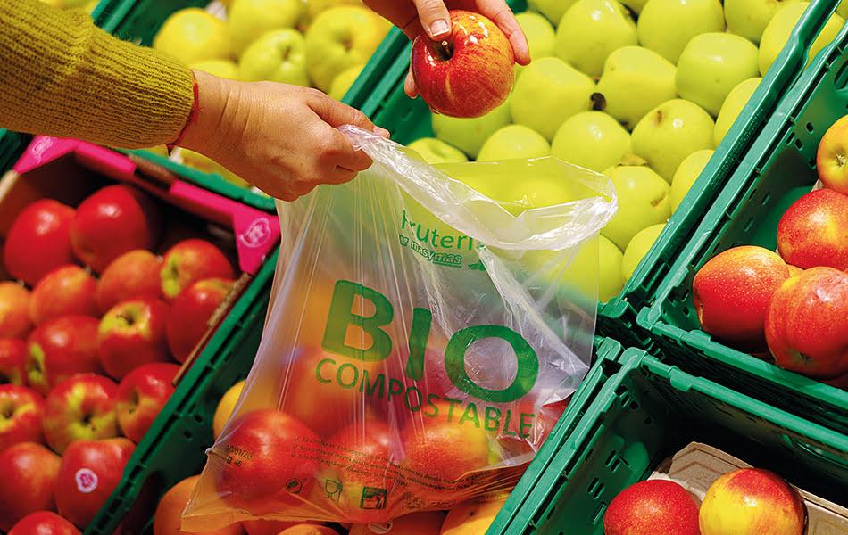 Supermercados Masymas elimina las bolsas de plástico para frutas y verduras