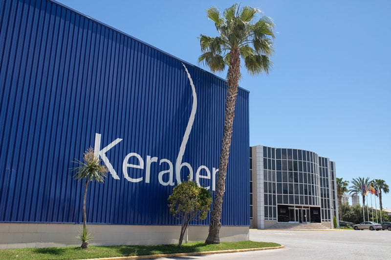 Keraben Grupo suspende su producción hasta el próximo 9 de abril