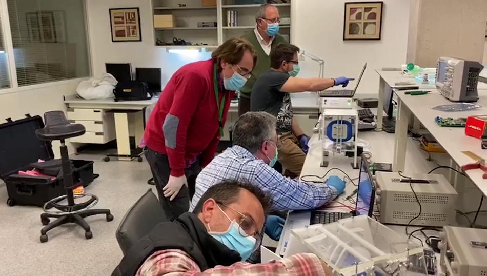 La UPV y el IBV desarrollan un ventilador mecánico para tratar afectados de COVID-19